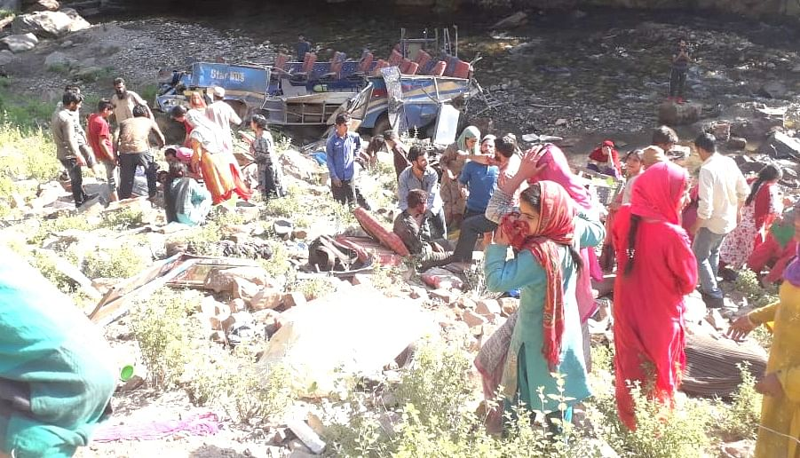 Kishtwar road accident: Death toll mounts to 35