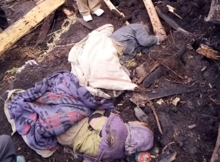 Mother, son duo die after mud house collapses in Kishtwar