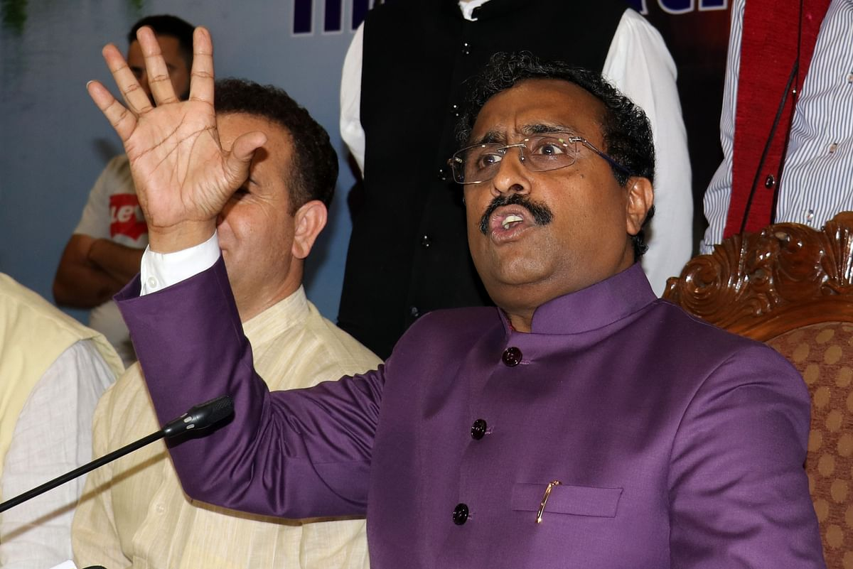 Modi govt will take necessary steps for benefit of Jammu and Kashmir: Ram Madhav on Article 35A