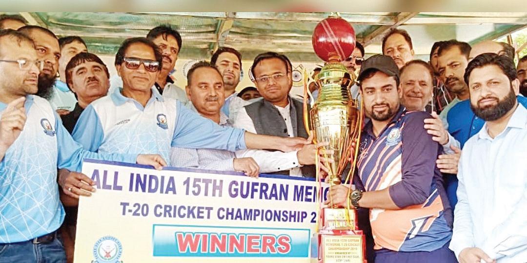 Rehmat Cricket Club Doda lift 15th Gufran Championship Trophy 2019