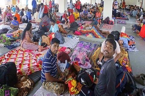 Jammu: Stranded pilgrims left high and dry