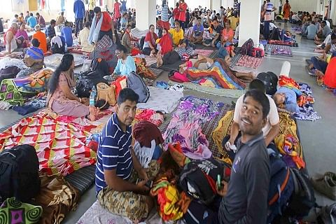 14th batch of 5,210 pilgrims leave Jammu for Amarnath cave in Kashmir Himalayas