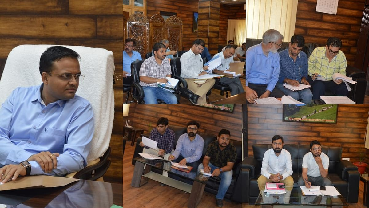 Education sector schemes reviewed at Doda