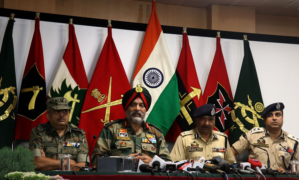 83% youth who joined militancy in last 18 months were stone-pelters: GoC Dhilon
