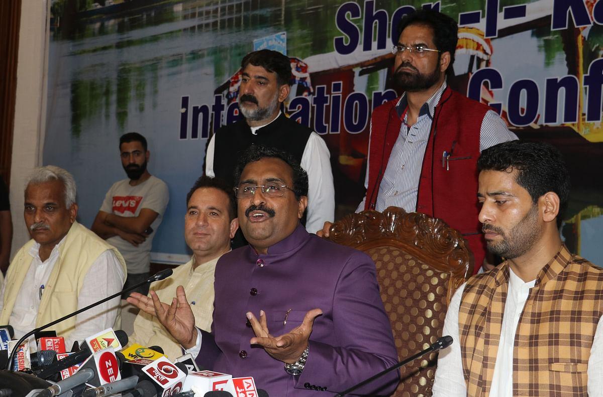 Modi Govt's decision will be in J&K's interest: Ram Madhav