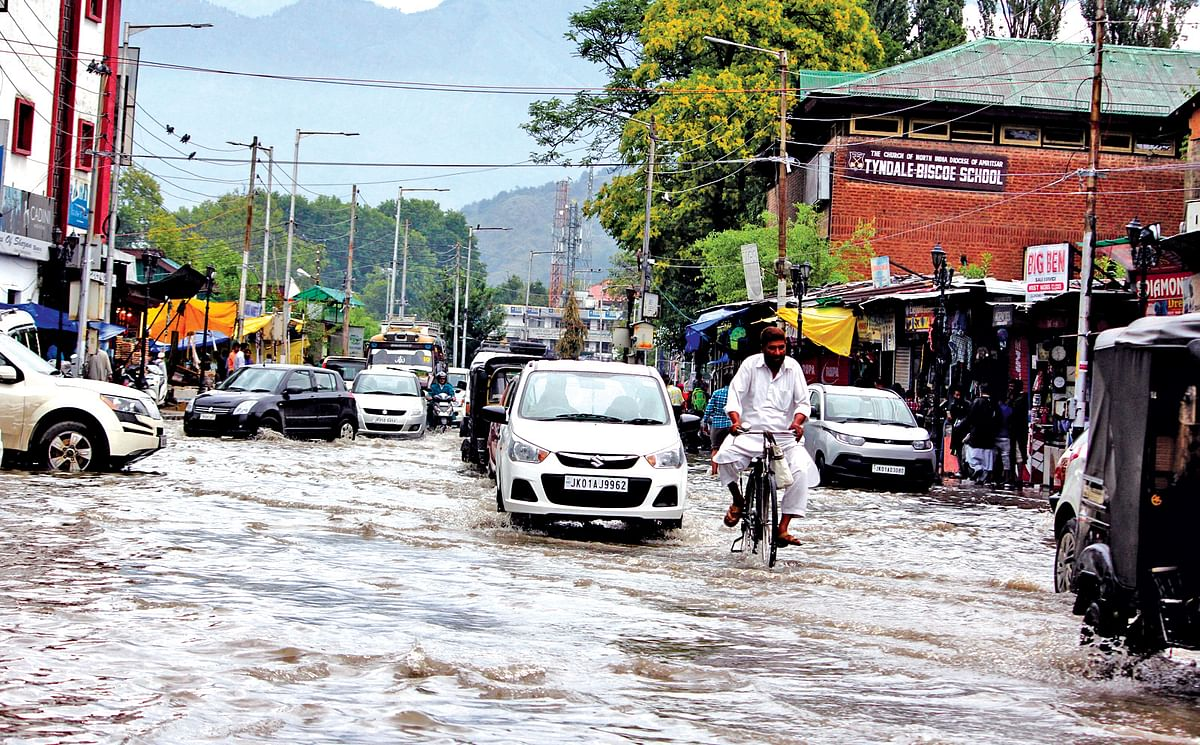 Few hours of rainfall submerges city, again