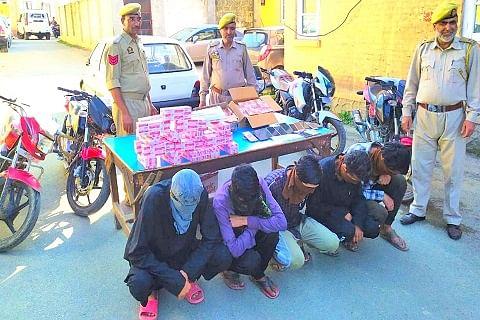 Five burglars arrested in central Kashmir's Budgam, stolen property worth lacs recovered: Police