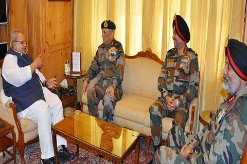 Army Chief begins 2-day Kashmir visit