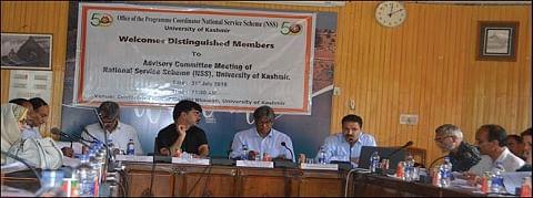 KU VC chairs NSS advisory committee meeting