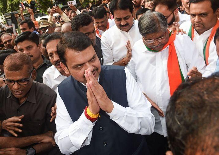 Maharashtra drama: Fadnavis makes way for Sena-NCP-Cong combine
