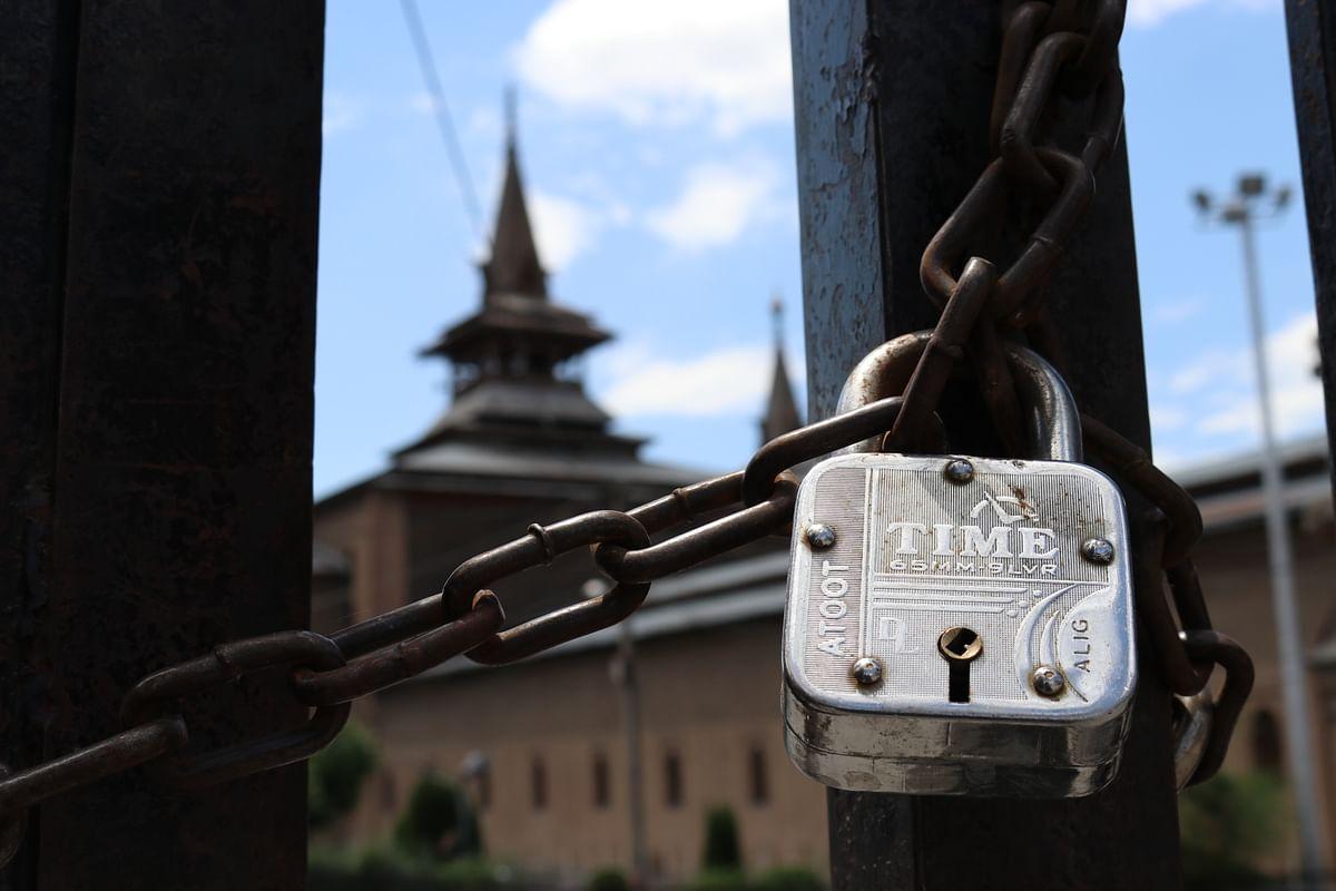 No congregational prayers at Jamia Masjid