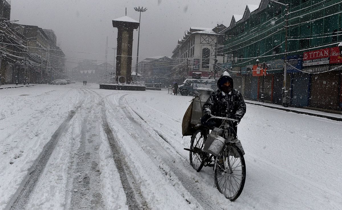 J&K, Ladakh likely to witness rains, snow from Friday: IMD