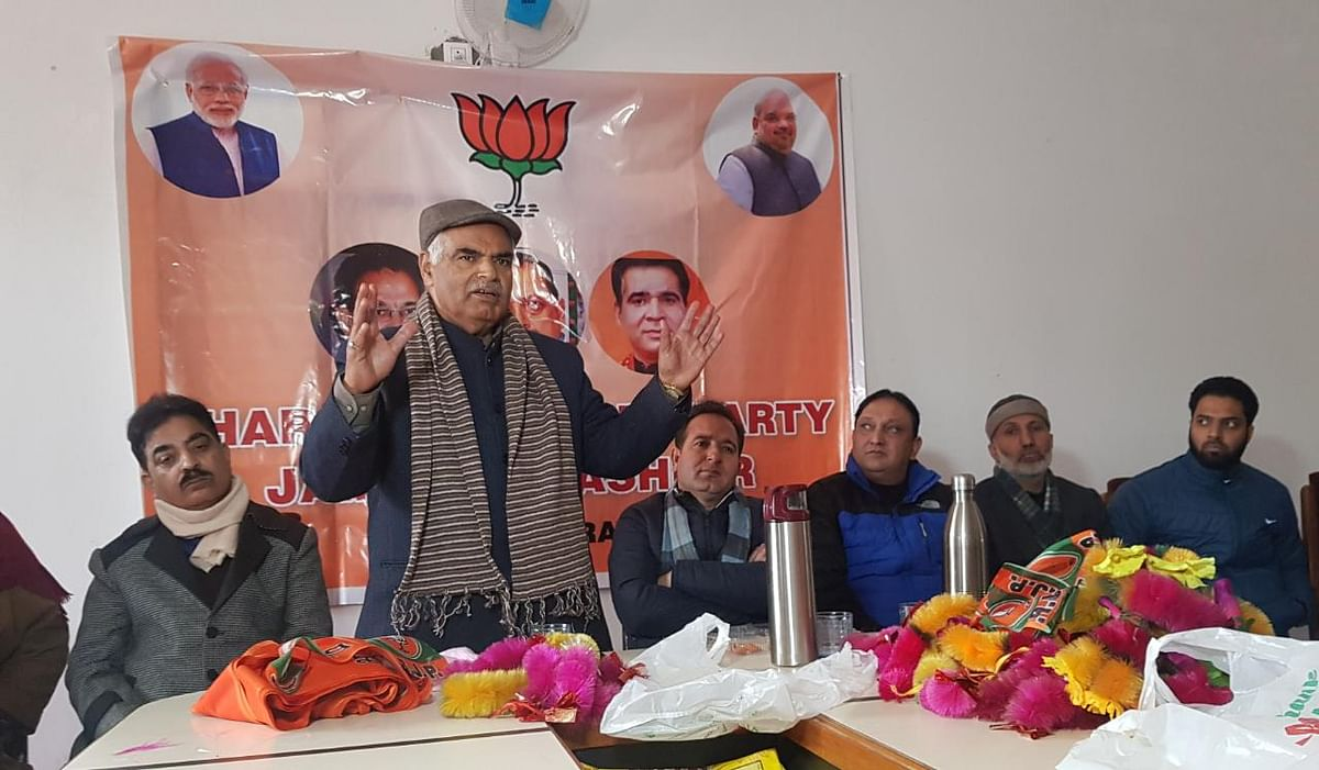 KPs have started Kashmir return from today: BJP