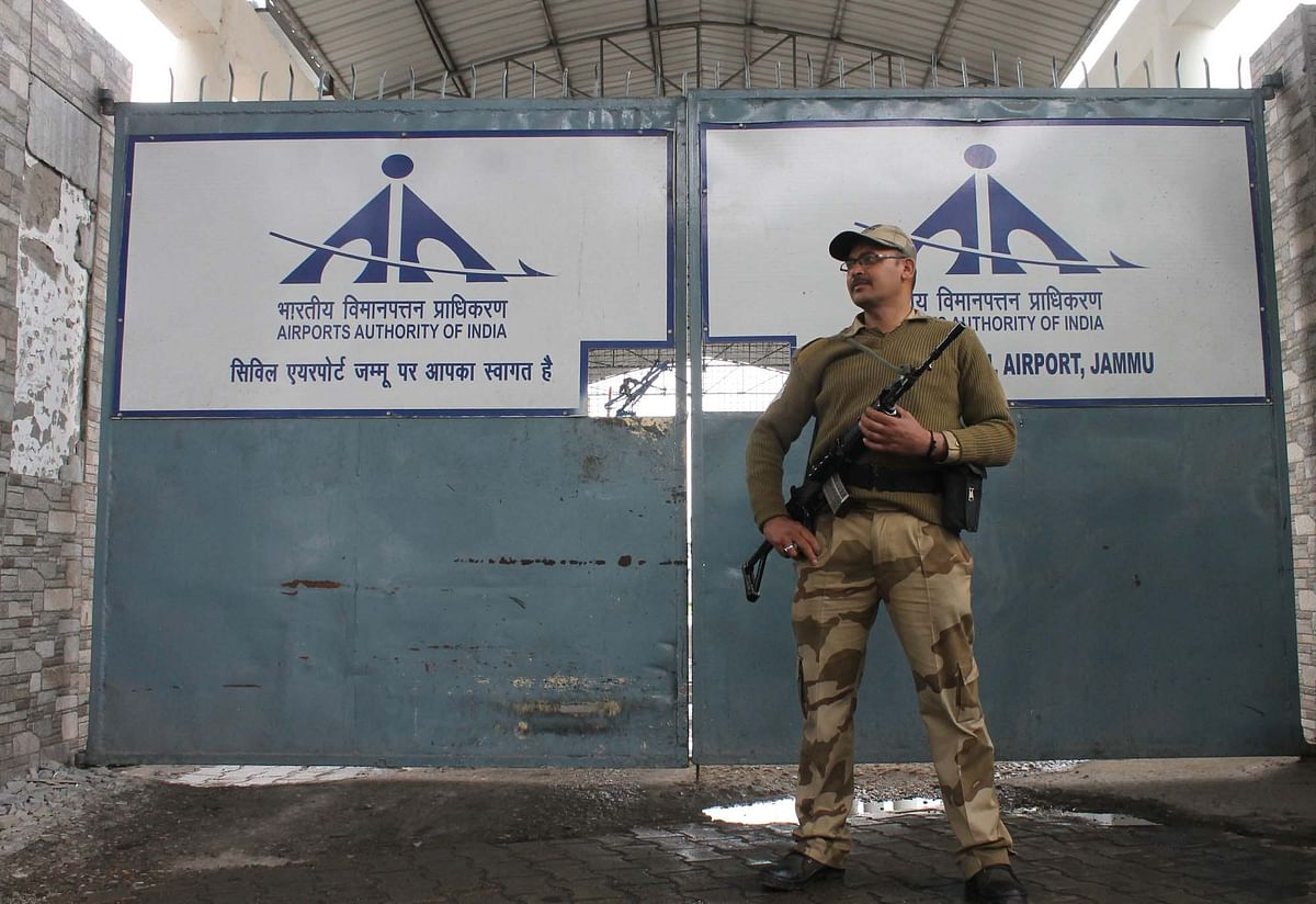 2 held with 1 kg gold bars at Jammu airport: Police