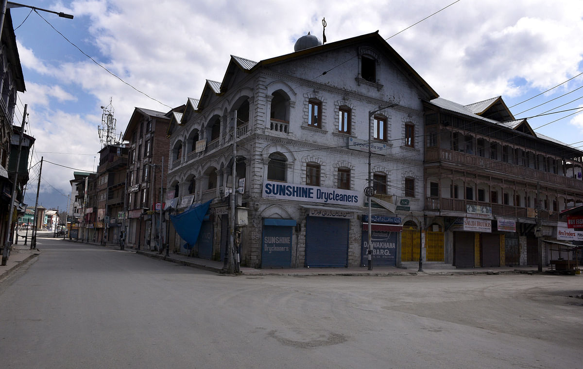 Restrictions tightened as Kashmir records second COVID-19 death