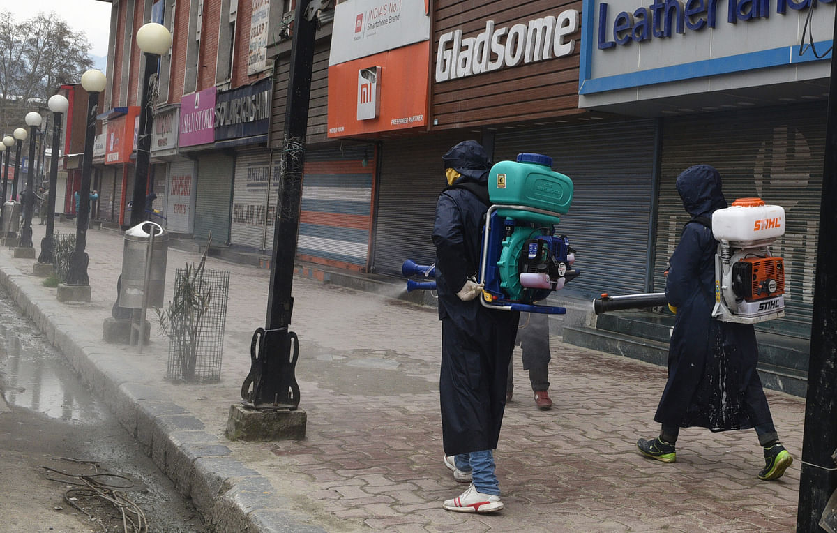 Surveillance stepped up in Kashmir to track COVID-19 cases