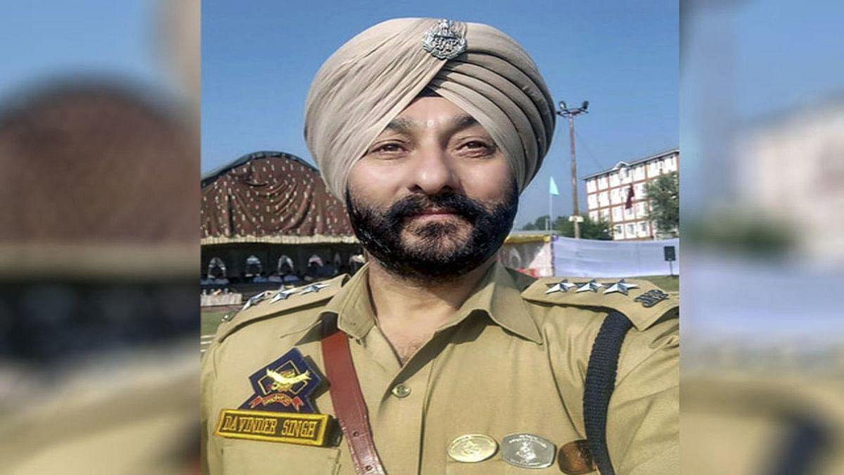 HC dismisses suspended DySP Davinder Singh's plea for transferring case to Srinagar
