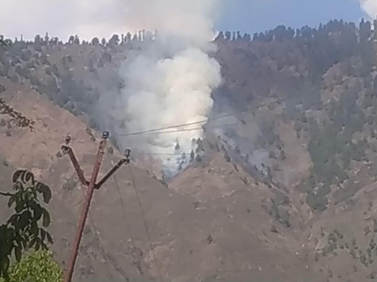 Fire breaks out in Bandipora forests