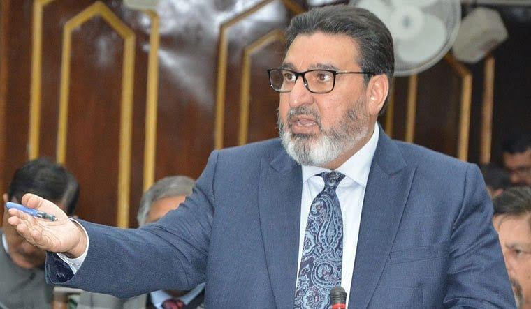 Altaf Bukhari extends greetings on eve of Eid
