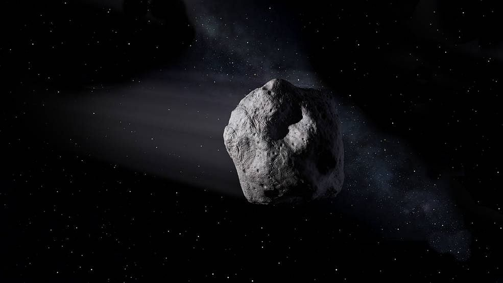 Airplane-size asteroid to cross Earth's orbit on Wednesday