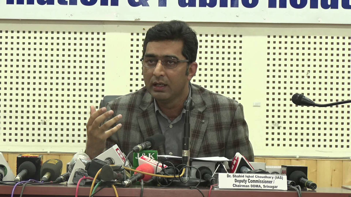 COVID19 containment: DC Srinagar hails support from SKUAST, KU