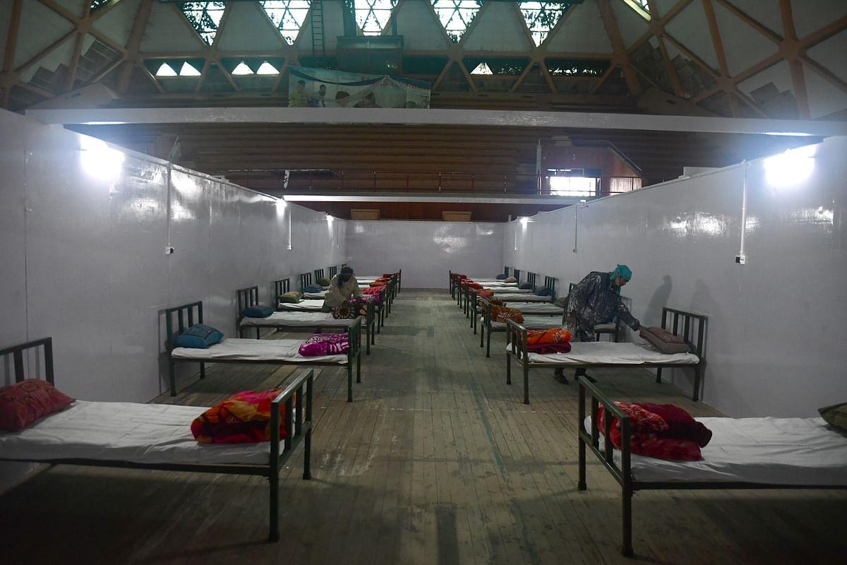 Kashmir hospitals run out of ICU beds