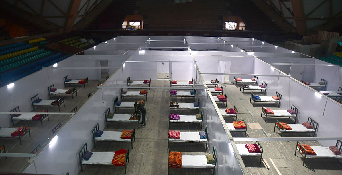 Only 6 beds dedicated to COVID-19 patients in Handwara hospital
