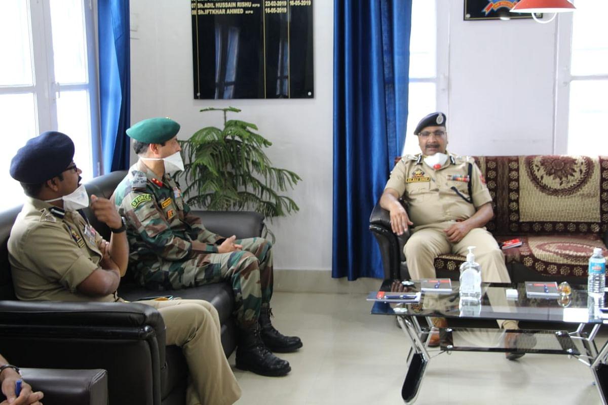 DGP reviews security measures in Kishtwar