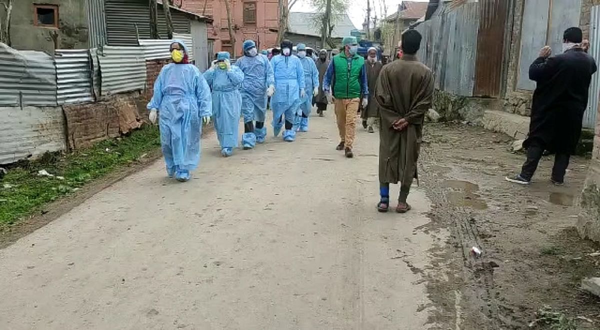 390 more corona cases in J&K, 482 recoveries