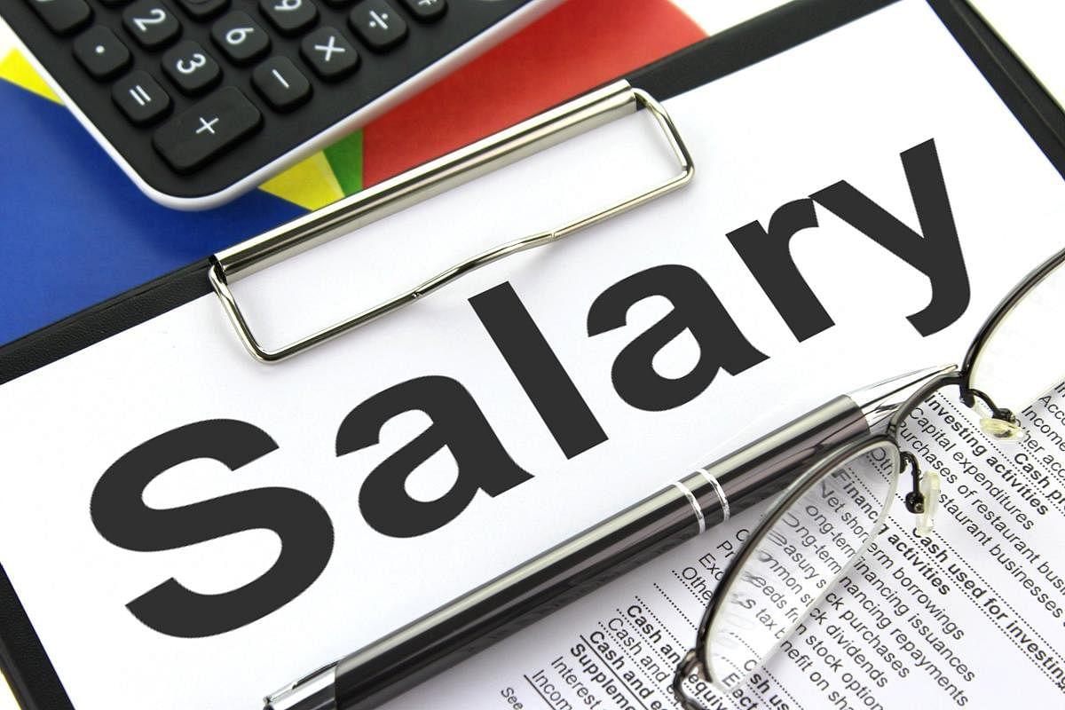 Police personnel seek release of salary