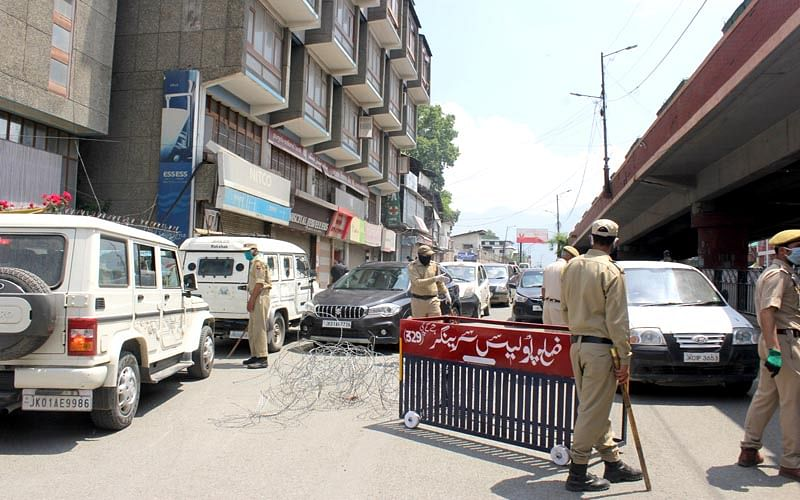 140 areas notified containment zones in Kashmir