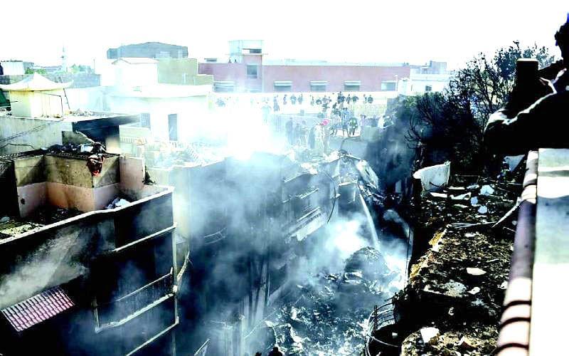 Pak plane 'jolted' thrice before crash: Survivor
