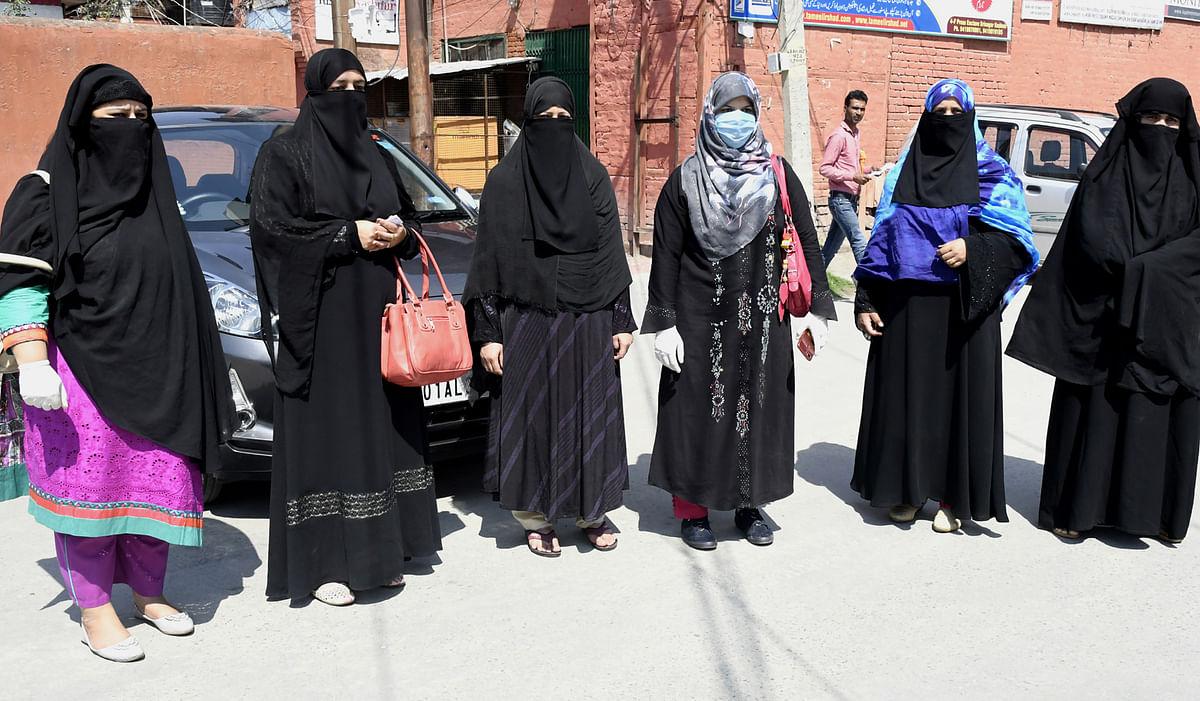 Ex-militants' Pak wives stage protest, demand citizenship rights