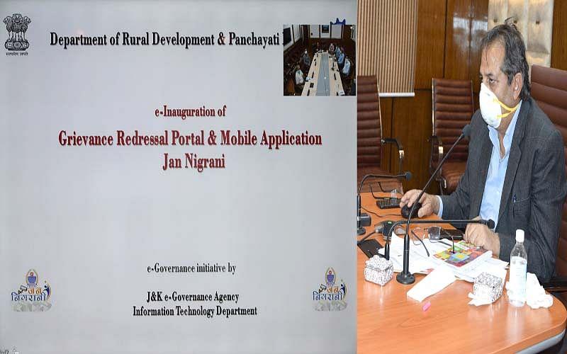 Advisor Khan e-inaugurates e-governance portals for tracking procurement, grievances