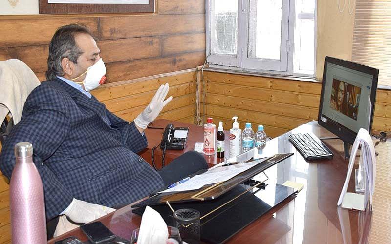 Wear masks, observe social distancing norms: Advisor Baseer Khan appeals public