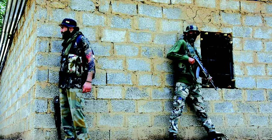 House to house searches in Tral