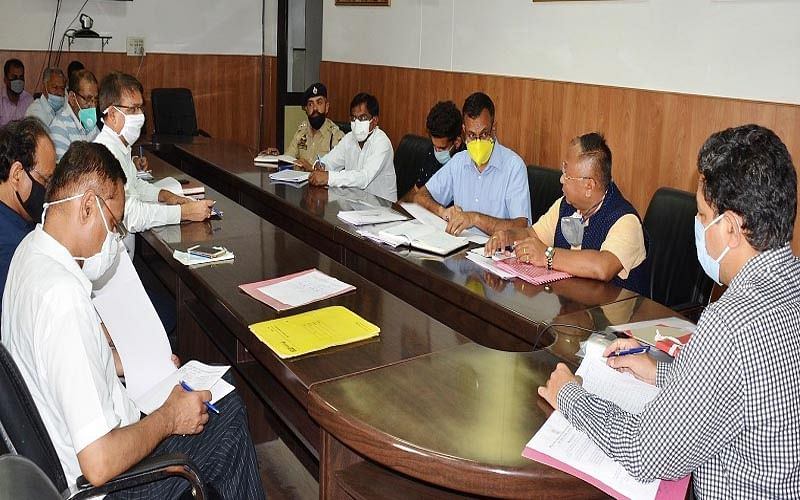 Progress on Jammu-Akhnoor road project reviewed