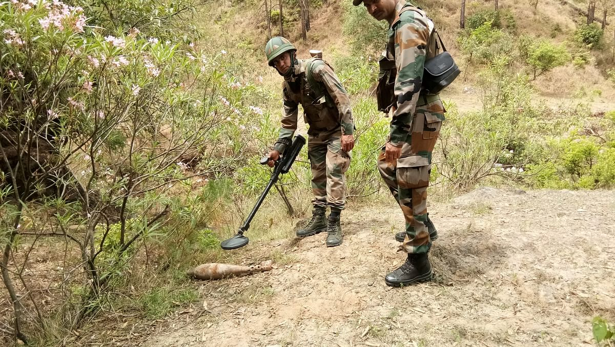 Army disposes of old shell found in J&K's Surankote