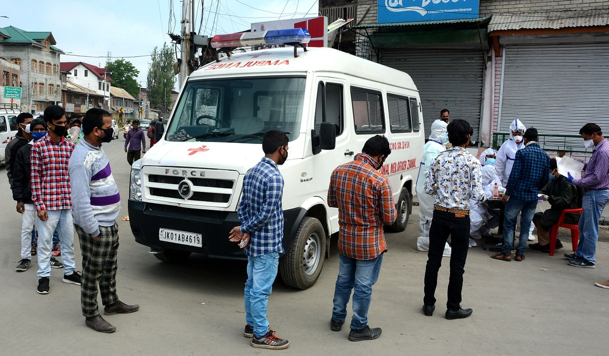 Highest single-day spike of 13,586 COVID-19 cases in India