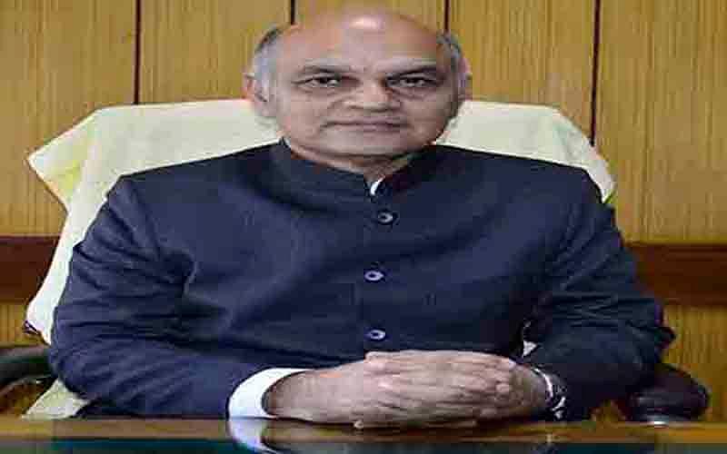 KK Sharma to represent J&K in delimitation panel