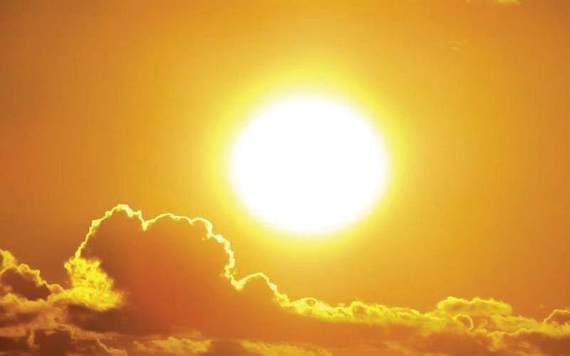 Sun goes cool