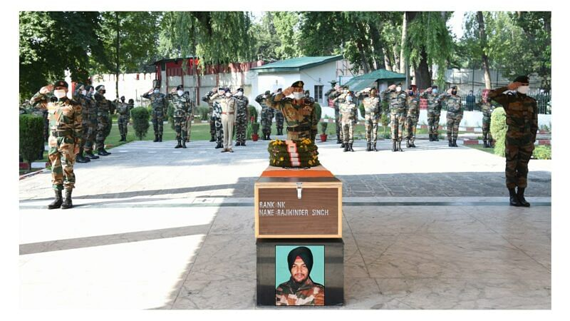 Army pays tribute to slain soldier