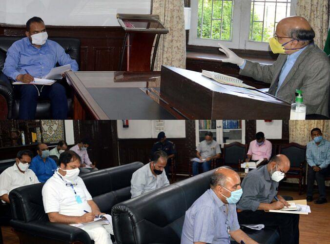Chief Secretary reviews flood preparedness