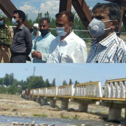 Gund Kilam Bridge work inspected