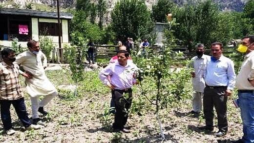 Director Horticulture visits Kishtwar