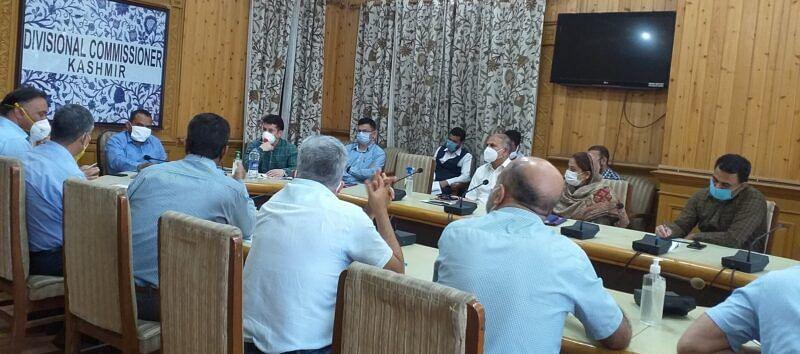 Div Com reviews land transfer cases in Srinagar