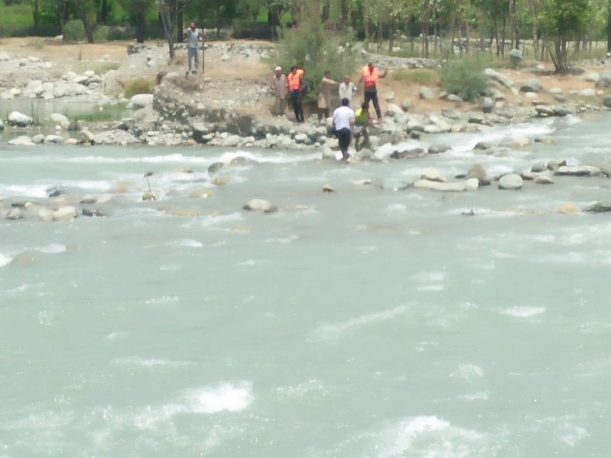 Ganderbal Drowning: Body of second boy recovered after three days