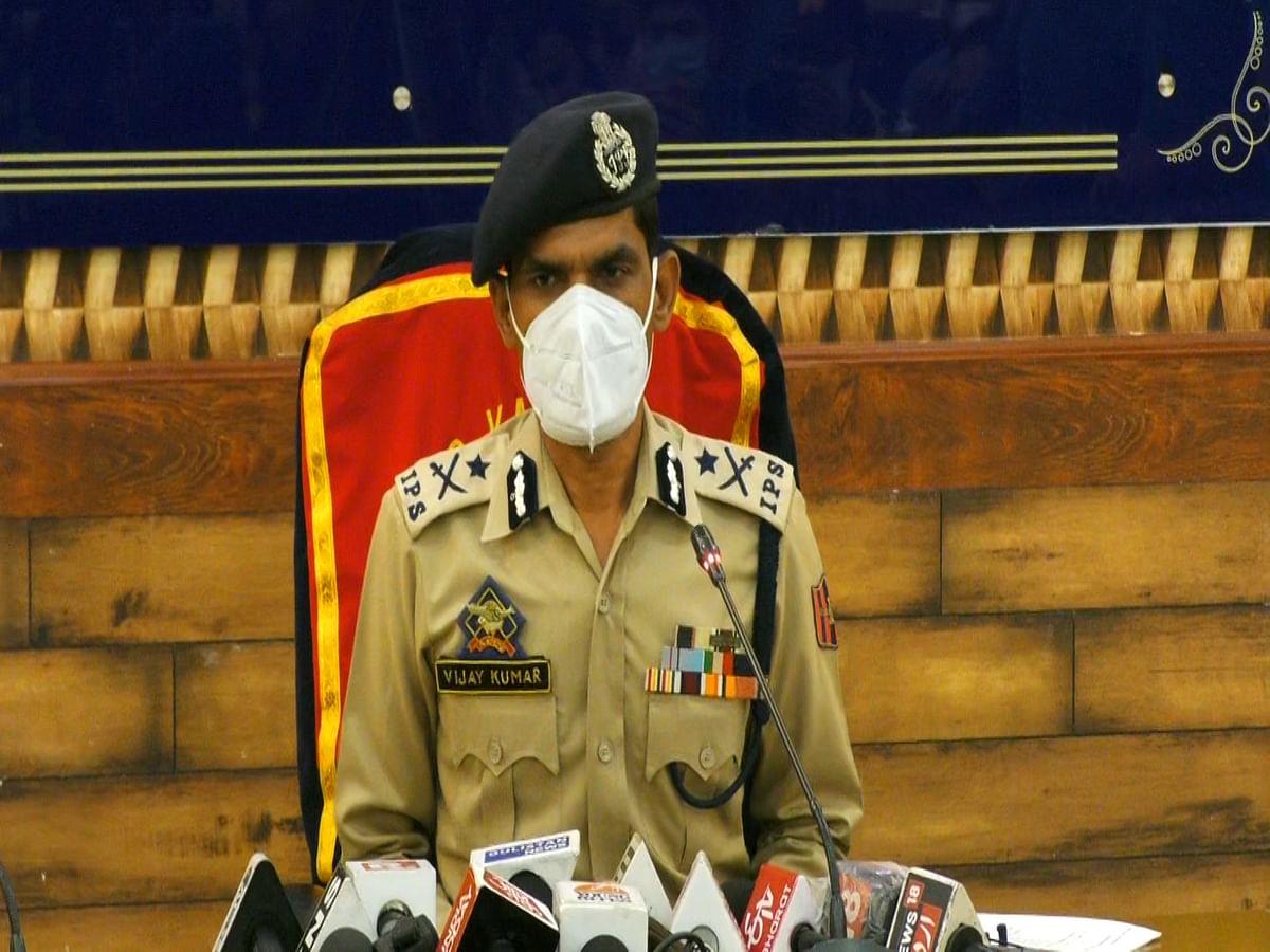 No internet shutdown or downgrading of speed in Kashmir: IGP Vijay Kumar