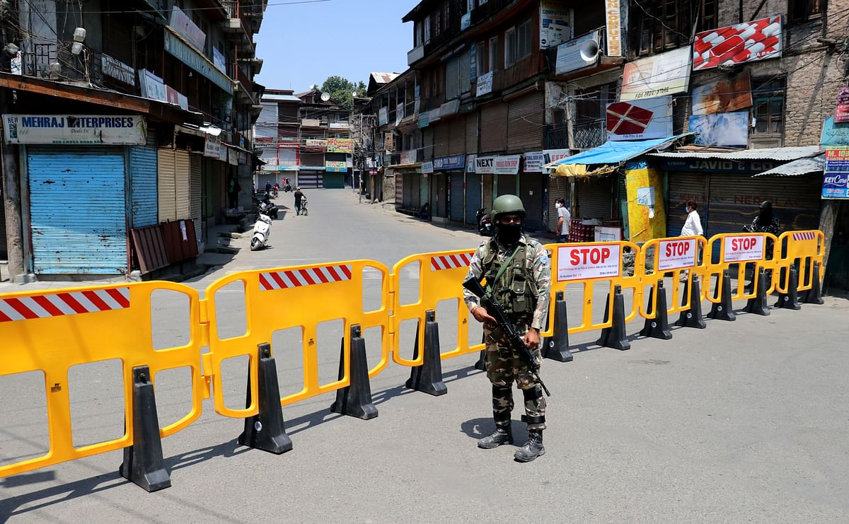 Restrictions to continue in Srinagar today