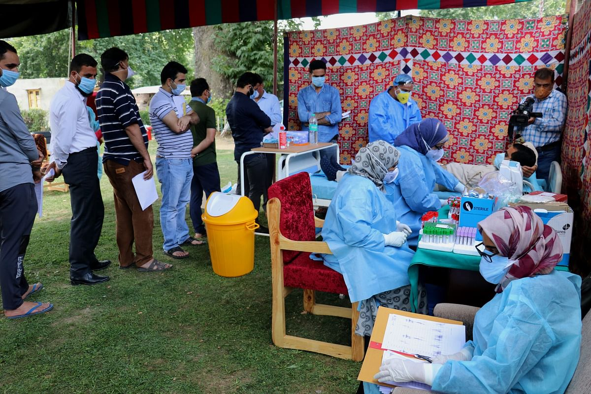 J&K reports 470 fresh Covid-19 cases, overall tally now 18390
